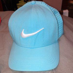 Men's Blue Nike Aeroflex Golf Hat